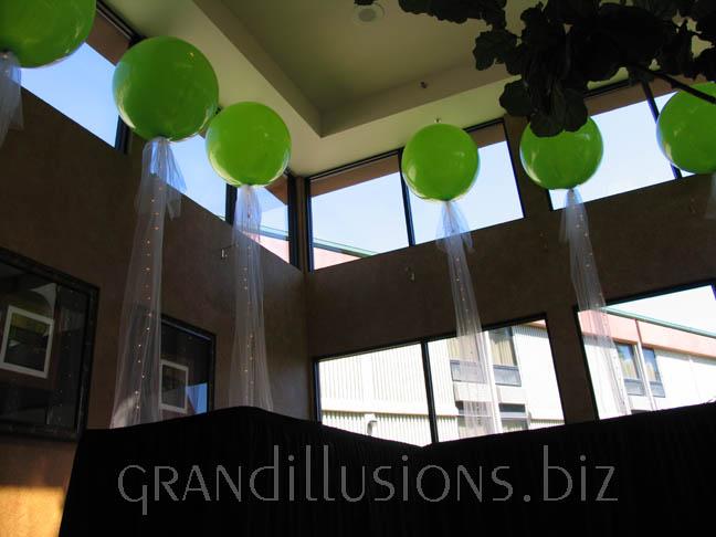 paddle balloons