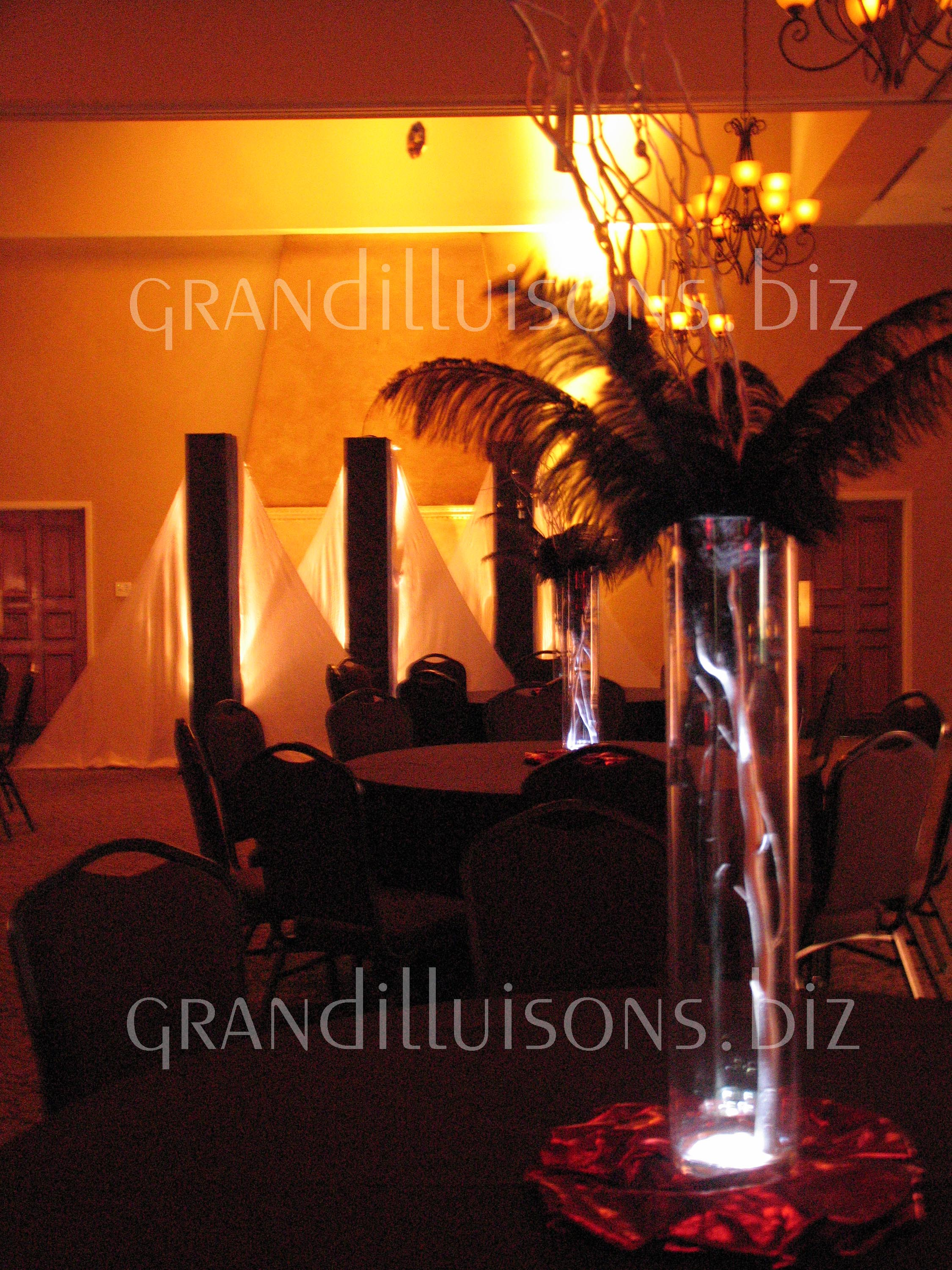 Grand Illusions professional prom decorations in Nebraska prom theme