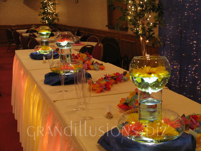 Tropical Head Table 2